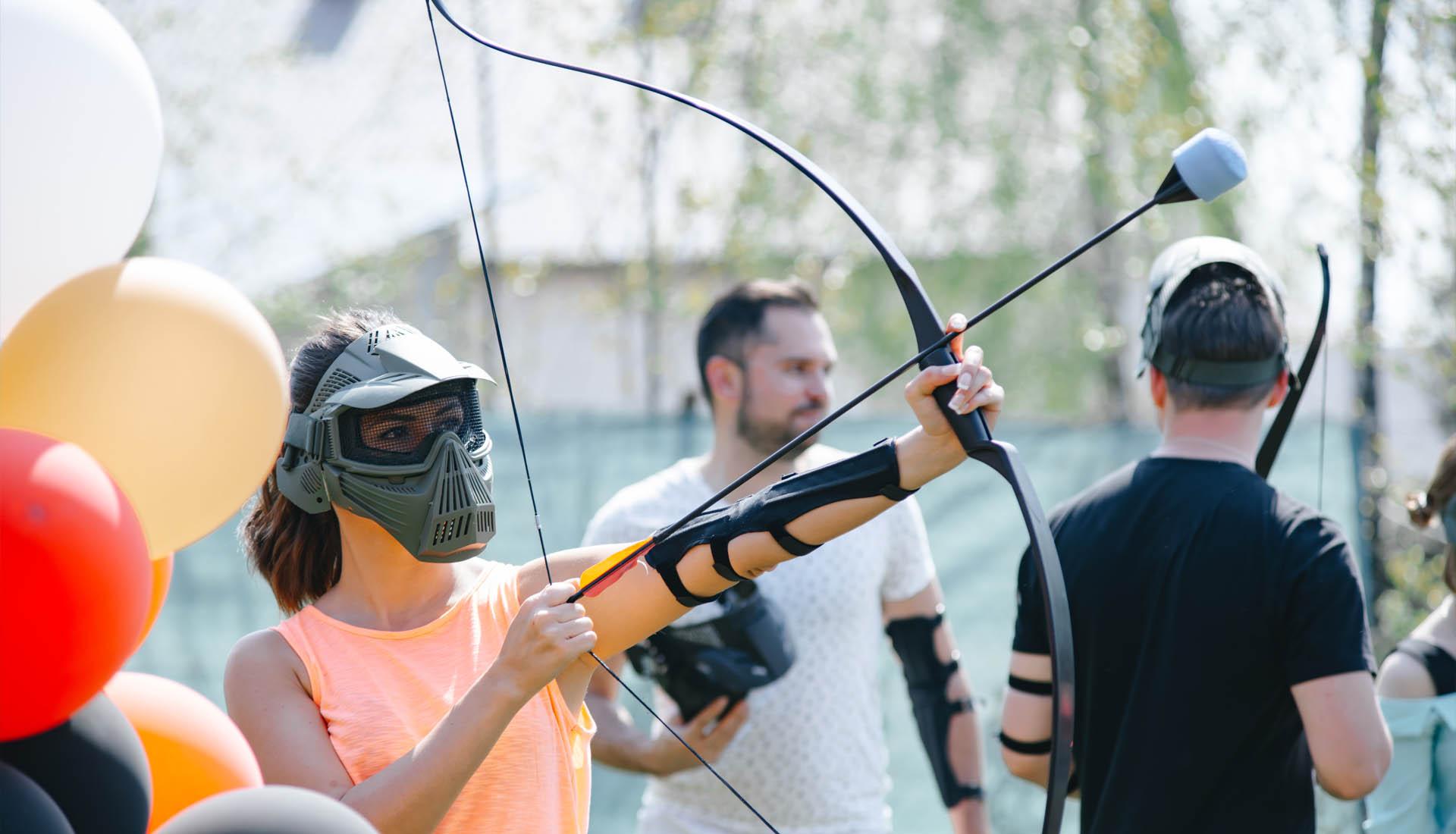 активный отдых в минске от archerywars